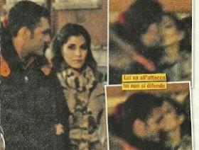 Foto Novella 2000 Vieri bacio