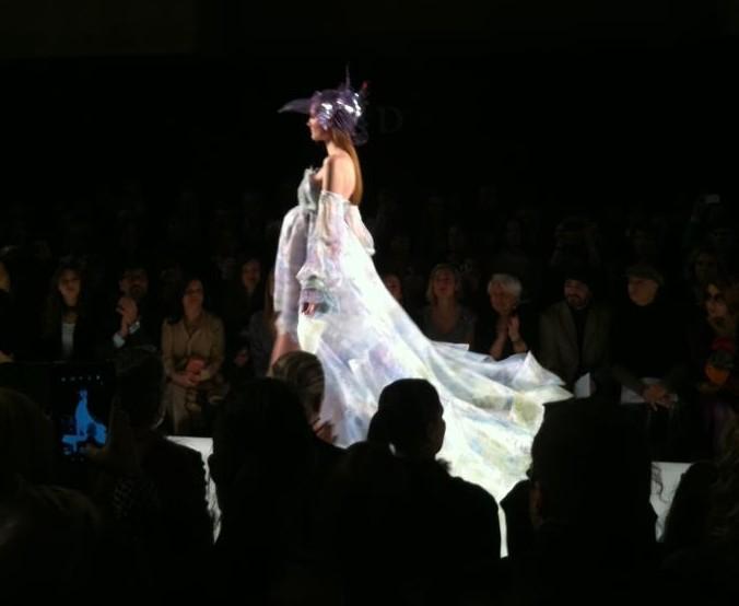 Gattinoni haute couture p\e 2012 Monti dress
