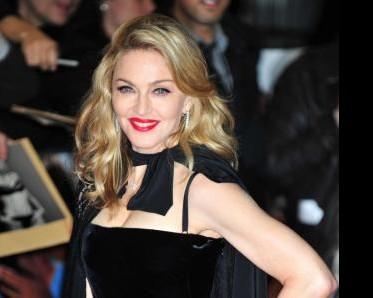 Madonna alla prima del suo film
