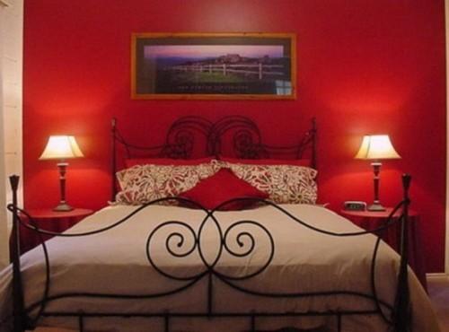 ... camere da letto arredate con i fiori per San Valentino  Ladyblitz