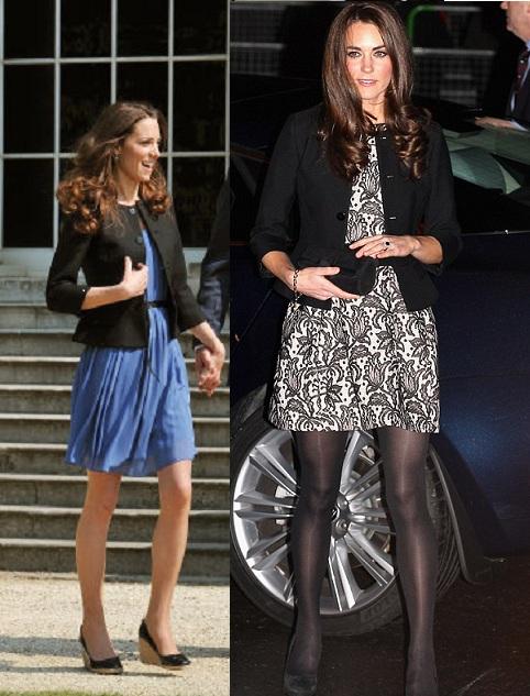 Kate Middleton veste Zara
