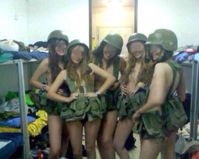 Soldatesse nude Israele