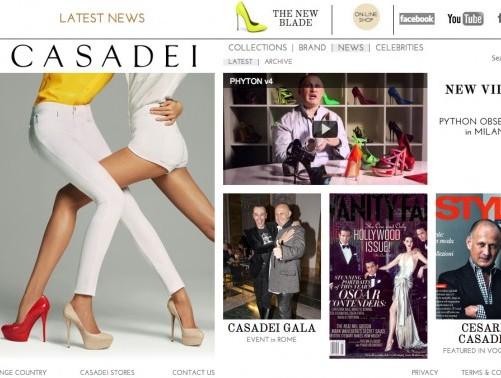Casadei New Website 24 Feb 12