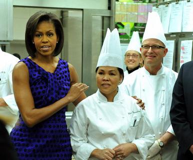 Chef della Casa Bianca: Usiamo prodotti km0 del nostro giardino