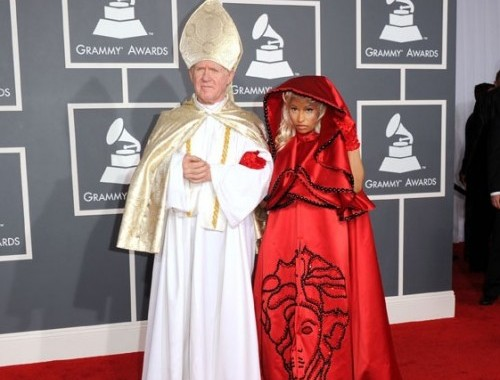 Nicki Minaj Grammy Awards 2012