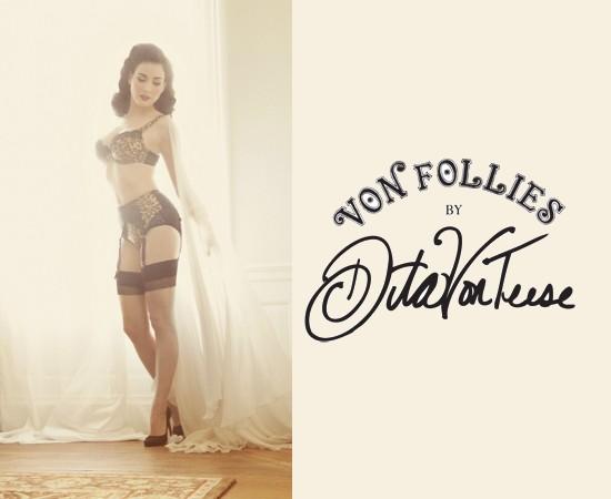 Dita Von Teese Von Follies Lingerie 01