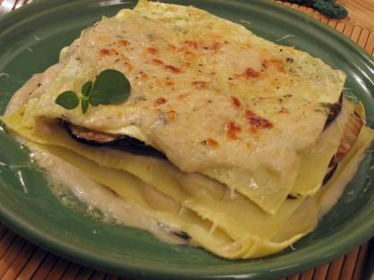 Lasagne pesce spada melanzane