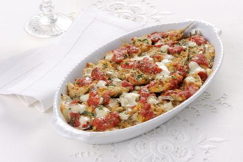 parmigiana alici mozzarella