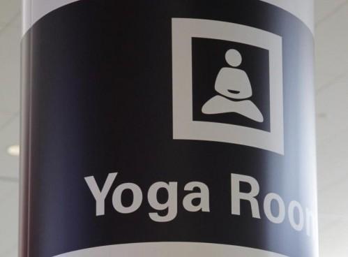 Sala yoga all'aeroporto di San Francisco 01