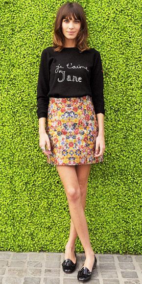 Alexa Chung best dressed week 3