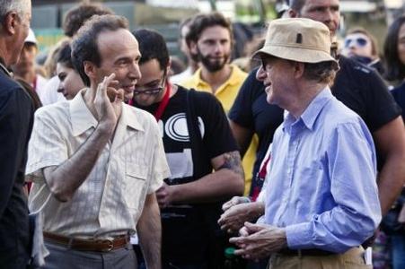 Woody Allen Roberto Benigni