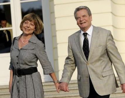 Joachim Gauck e Daniela Schadt