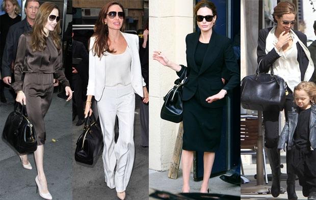 Angelina Jolie Ralph Lauren bag