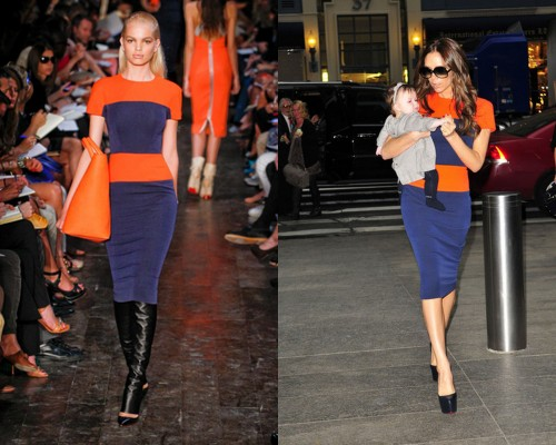 Victoria Beckham abito