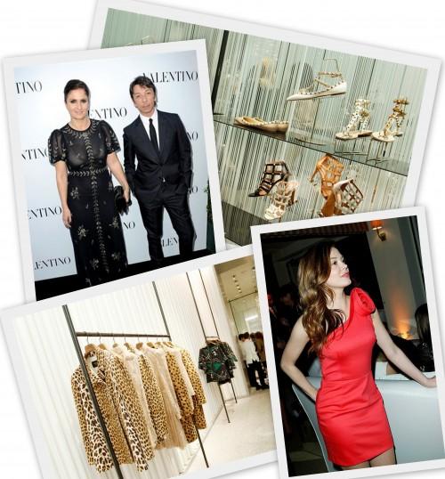 Apertura boutique Valentino anteprima
