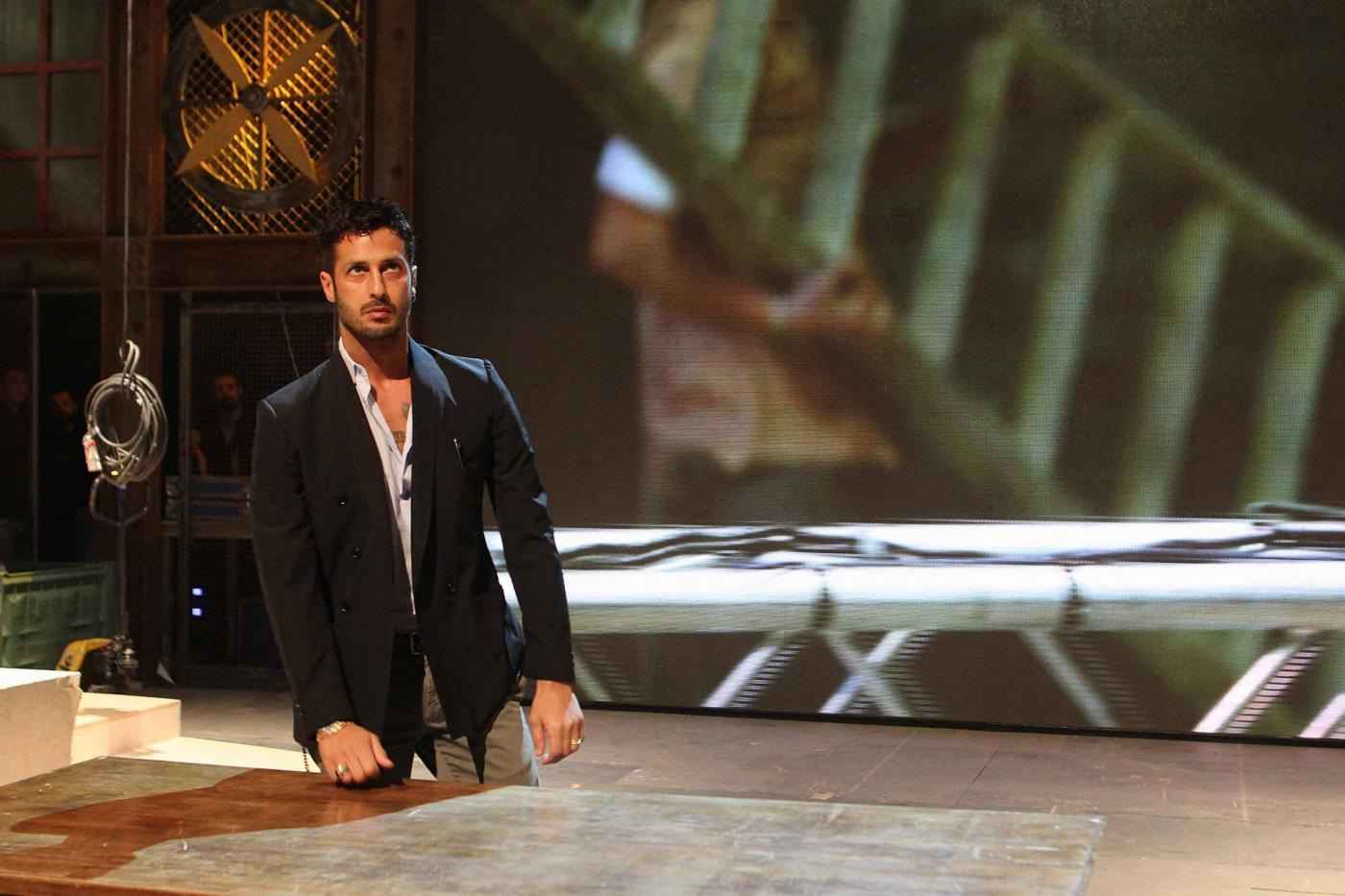 Fabrizio Corona presenta il suo talk-show televisivo 04