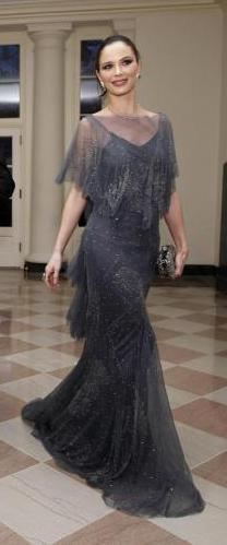 Georgina Chapman best dressed