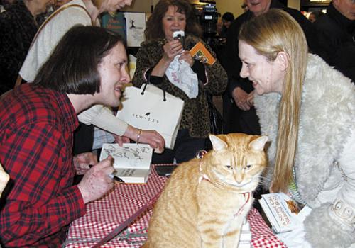 James Bowen gatto Bob 08