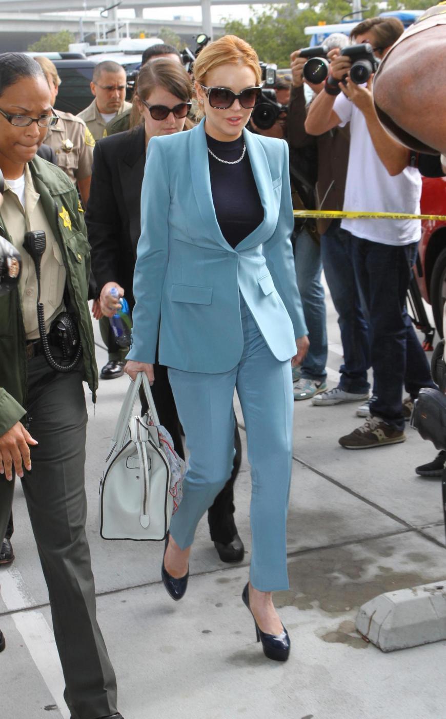 Lindsay Lohan in Tribunale 05