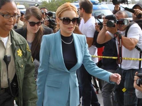 Lindsay Lohan in Tribunale 06