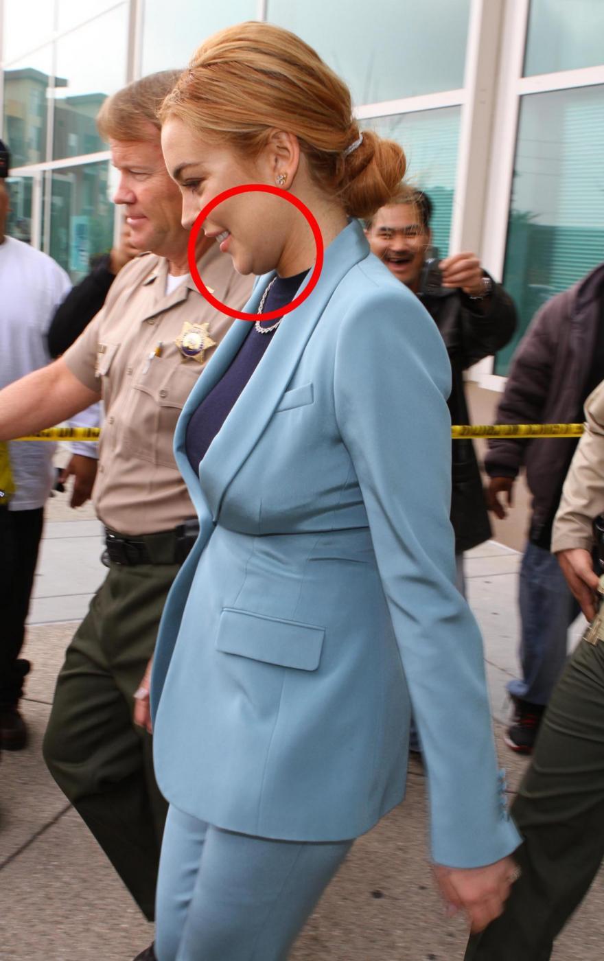Lindsay Lohan in Tribunale 01