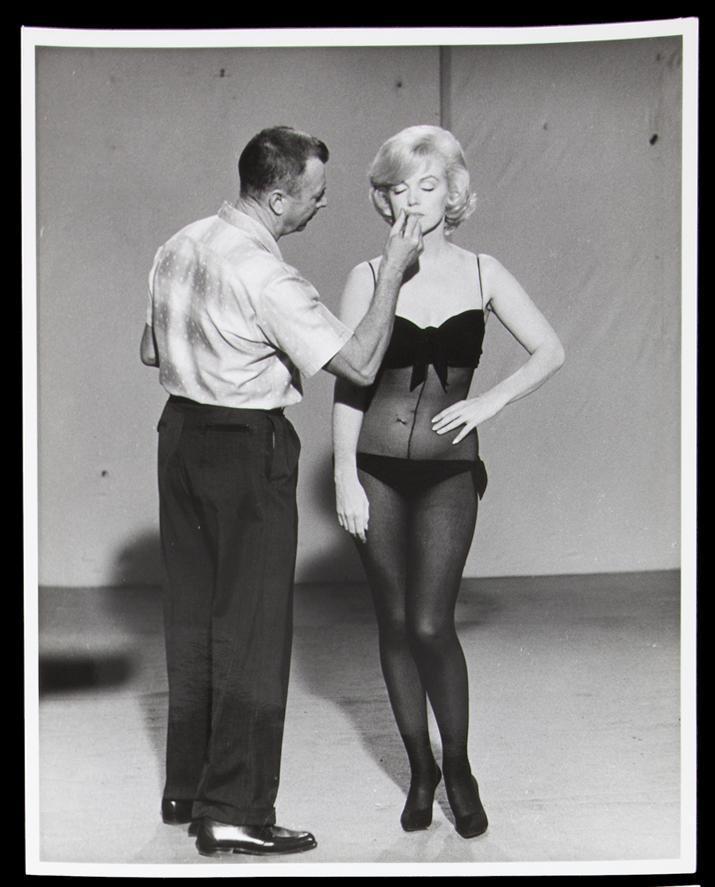 Allan Whitey Snyder,Marilyn Monroe01