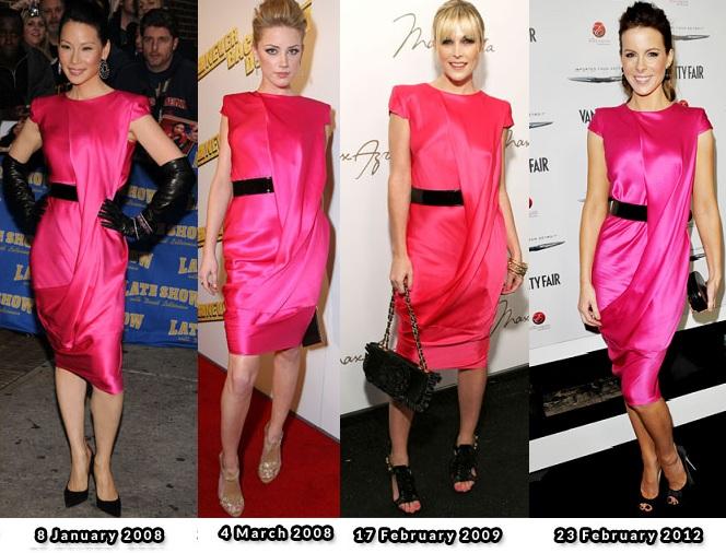Alexander McQueen fucisa dress