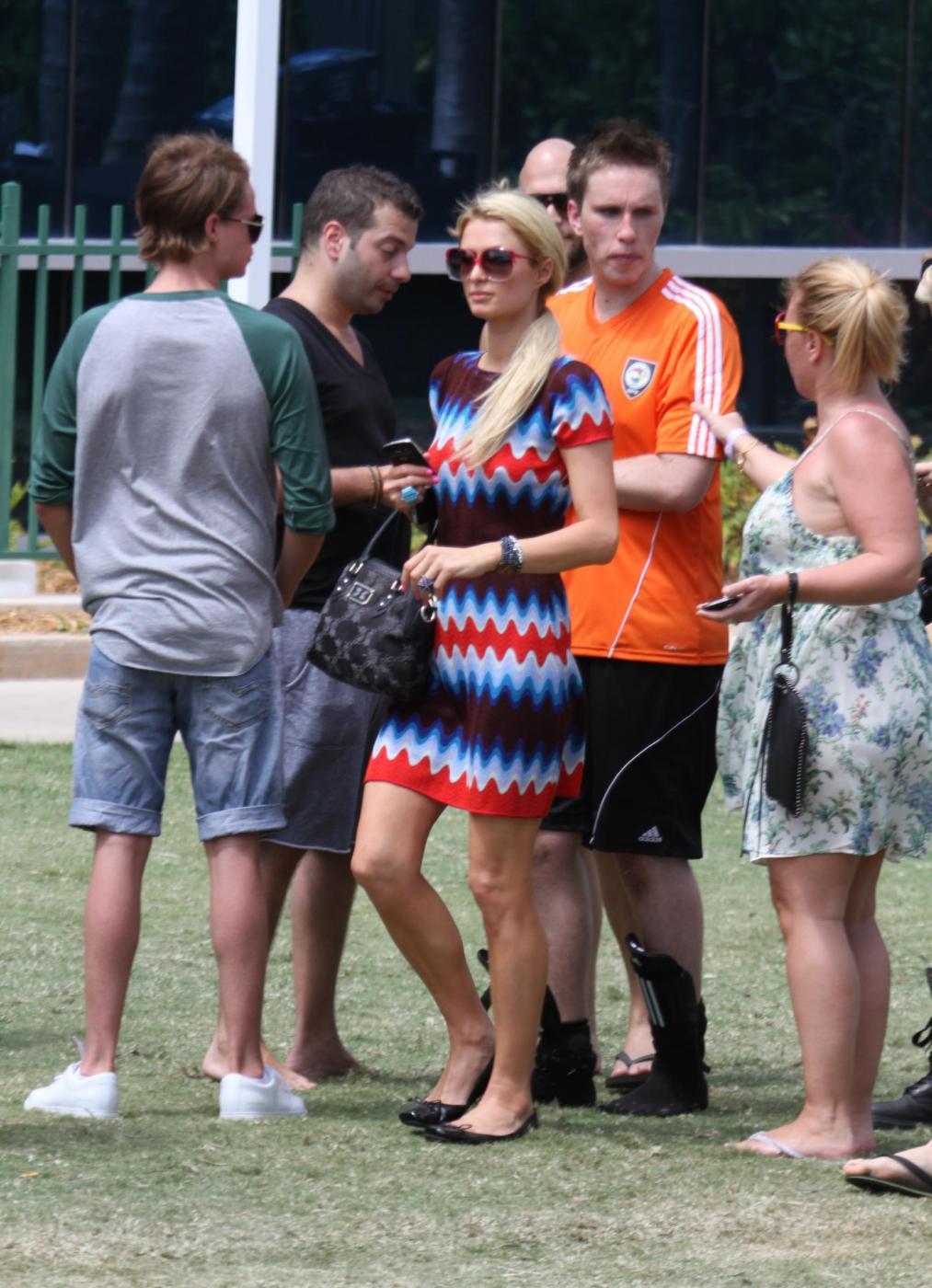 Paris Hilton e il fidanzato, il DJ Afrojack012
