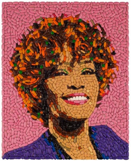 Whitney-Houston-mosaic