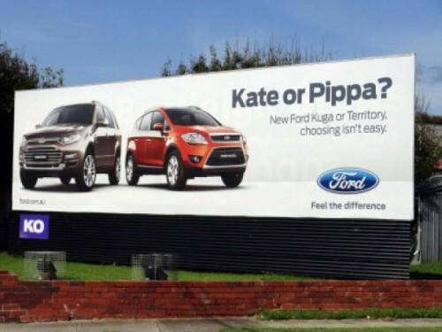 Auto, la scelta tra Pippa e Kate