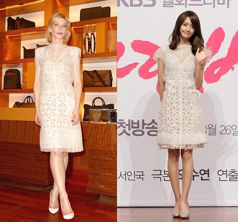 Cate Blanchett e Yoona in Louis Vuitton