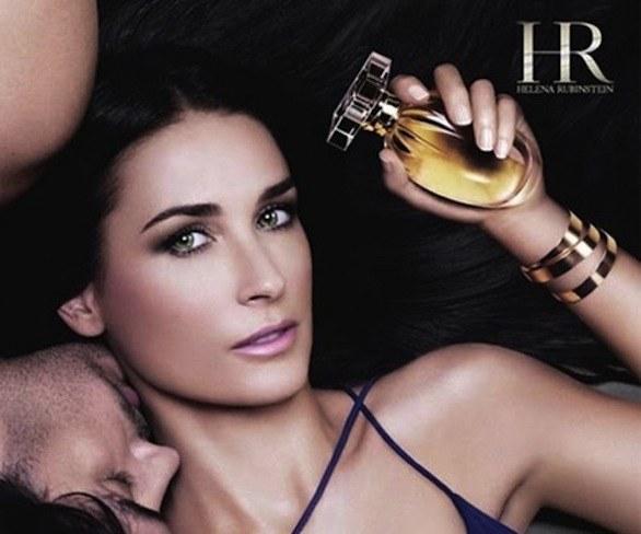 Demi Moore per Helena Rubenstein 01