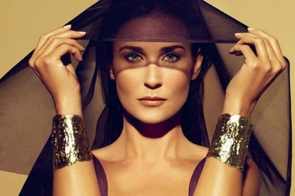 Demi Moore per Helena Rubenstein 02
