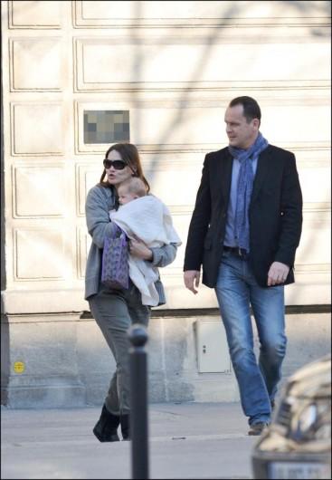 Giulia Sarkozy con Carla Bruni