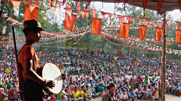 Festa per il centenario della rivolta di Bhumkal