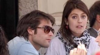 Alessandra Mastronardi e Rodrigo Guirao a pranzo