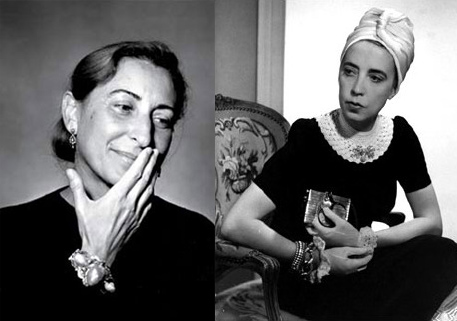 Miuccia Prada ed Elsa Schiaparelli