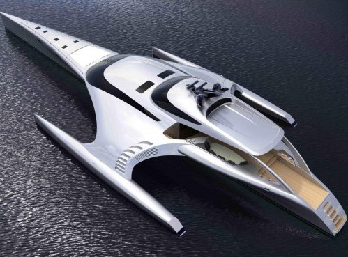 Luxury Yacht Trimaran Adastra03