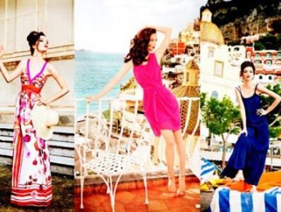 Mariacarla Boscono nel video Ferretti per Macy
