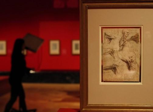 La mostra sui disegni di Leonardo Da Vinci 02