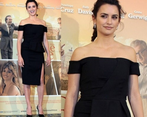 """Penelope Cruz in Emilio Pucci """"To Rome with love"""" photocall"""
