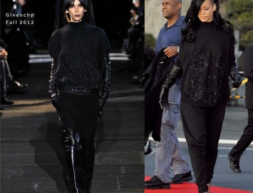 Rihanna in Givenchy 01