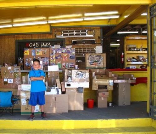 California la sala giochi di cartone del piccolo caine for Sala giochi del garage