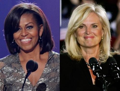 Michelle Obama e Ann Romney