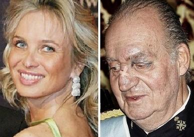 Juan Carlos e Corinne