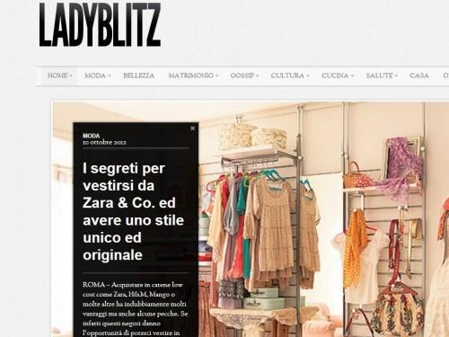 Newsletter Ladyblitz