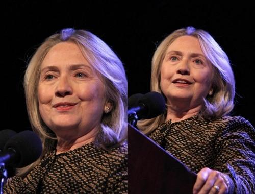 Hillary Clinton senza trucco 01