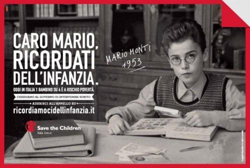 Save The Children Mario Monti