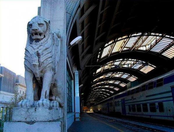 Stazione Centrale binario 21