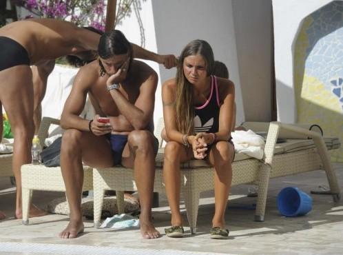 Cristian Zaccardo in vacanza in Sardegna 02